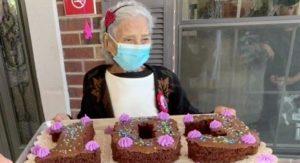 com 103 anos ela sobreviveu ao covid-19