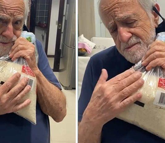 sucesso-no-instagram-ary-fontoura-faz-critica-ao-preco-do-arroz-agarrado-a-um-pacote
