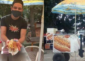 ele-perdeu-o-emprego-na-pandemia-e-decidiu-abrir-uma-barraca-de-hot-dog-eu-nao-tenho-medo-de-recomecar