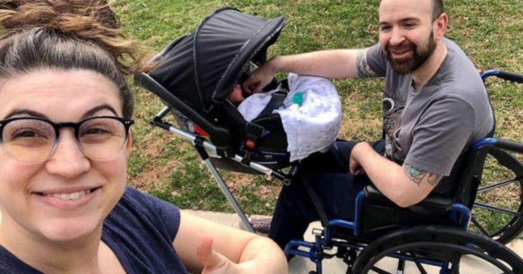 pai-cadeirante-consegue-passear-com-o-filho-gracas-a-criacao-dos-alunos-da-esposa